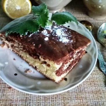 Пирог «День и ночь»